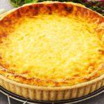tarte au fromage du Vasterbotten