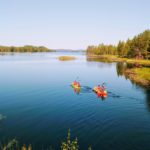 lapland in kayak