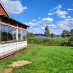 chalet Laponie lac